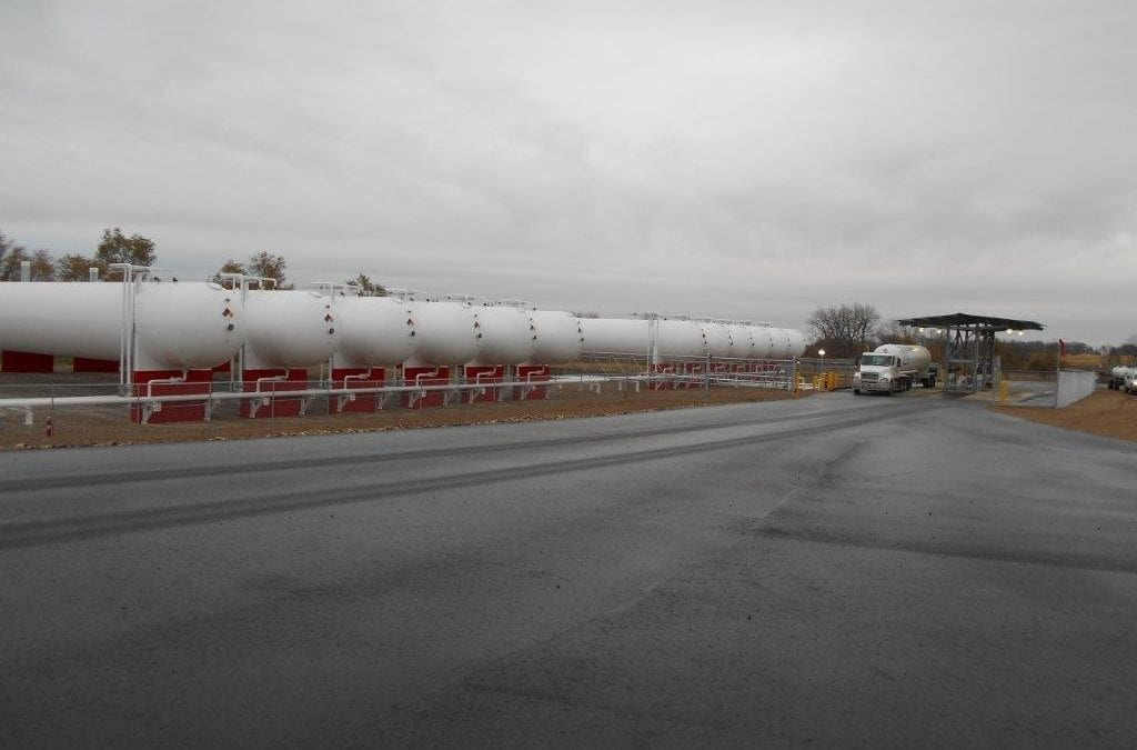 Wisconsin Propane Terminal Closes Midstream Supply Gap for CHS, Inc., Due to Cochin Pipeline Flow Reversal