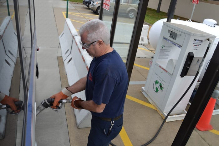 GREEN FLEET: Going Beyond Electric and Natural Gas