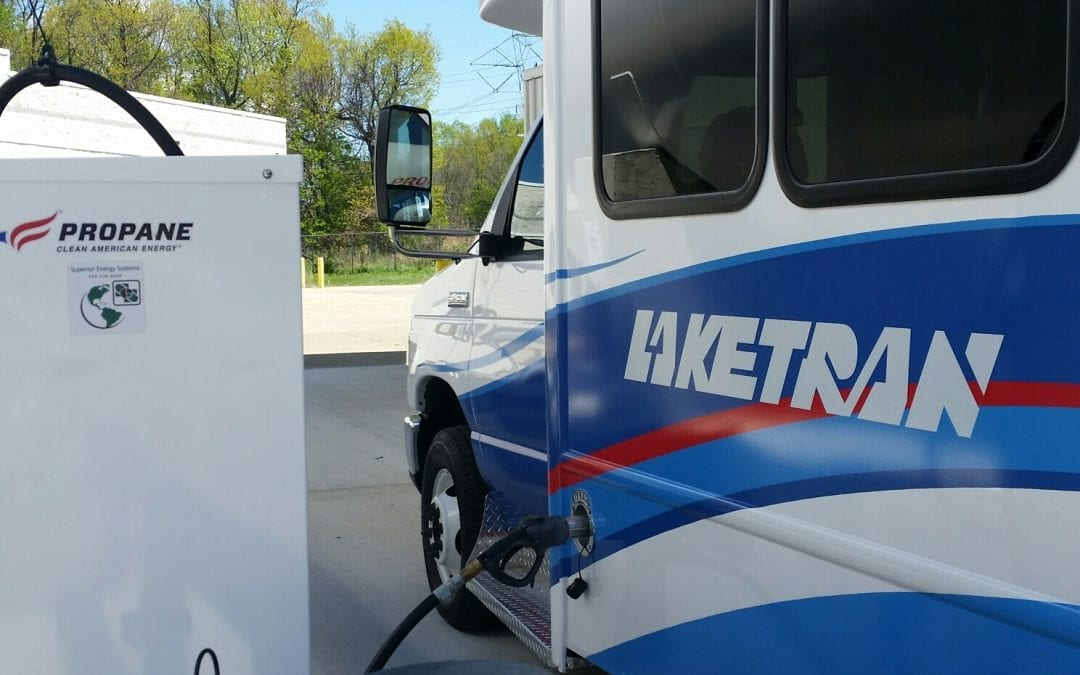 LPGas: Laketran to Receive Eight Propane-fueled Paratransit Buses