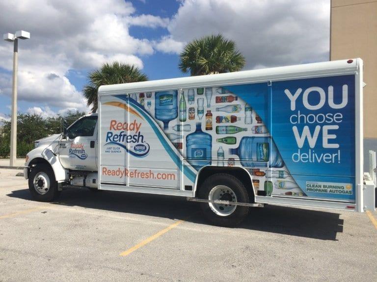 NGT News: Nestle Waters Adds 400 Propane-Powered Trucks
