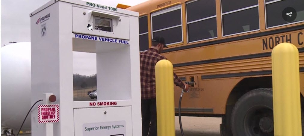 School Transportation News: North Crawford School District Goes and Saves Green with Propane-Fueled School Buses