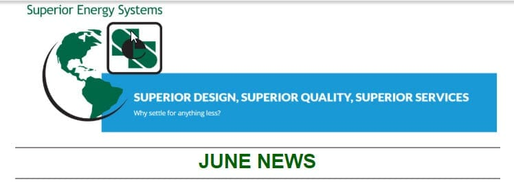 Superior Energy Systems June Newsletter