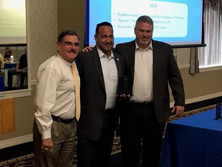 NGTNews: Sharp Energy Honored for Propane Autogas Efforts