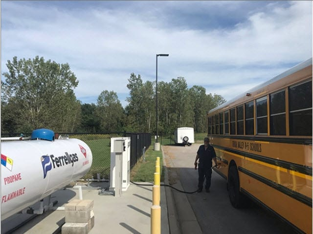 LPGas: Missouri school district reaps propane bus benefits