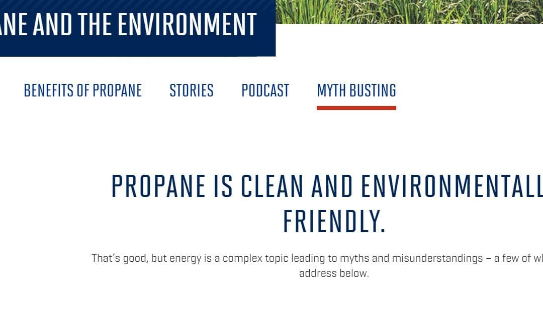 PERC: When You're Challenged About Propane Being Good for the Environment …