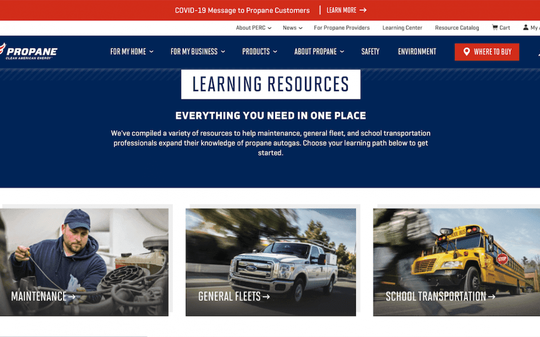 NGTNews: PERC Creates Online Learning Resources for Propane Autogas Fleets